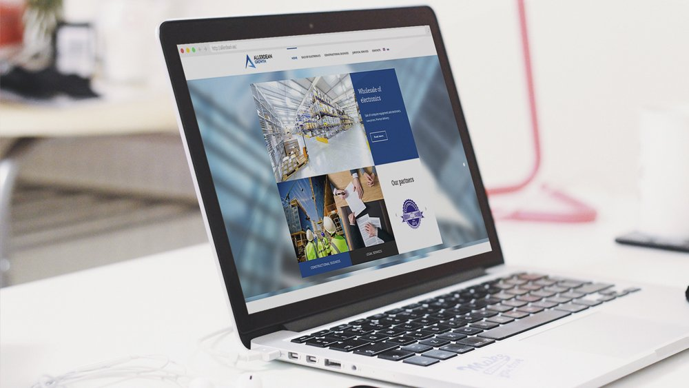 Korporatiivne veebileht Allerdean