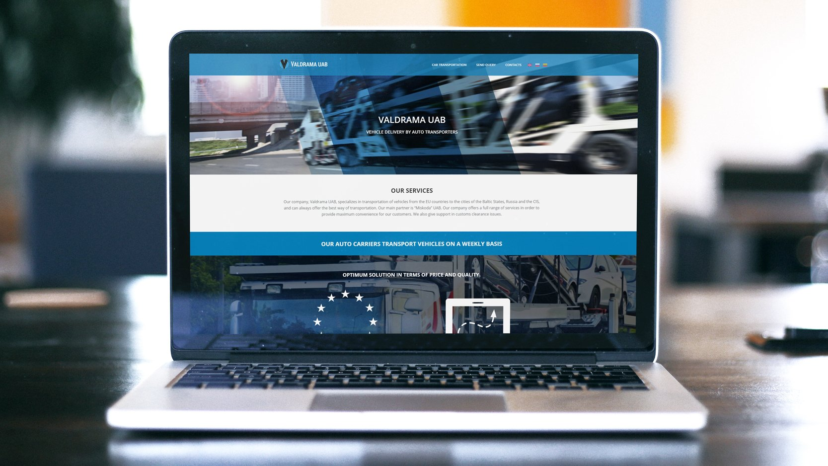 VALDRAMA – Landing veebileht