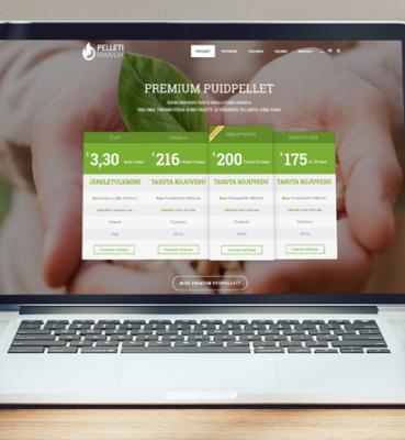 PELLETIMAAILM – Korporatiivne veebileht