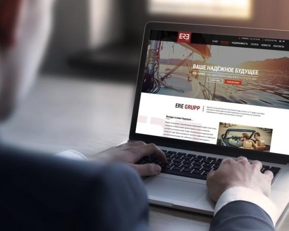 ERE GRUPP – Korporatiivne veebileht