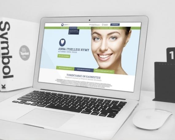 Implanttihoito – Korporatiivne veebileht
